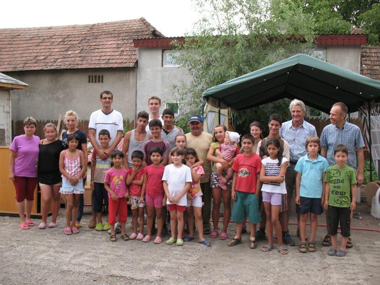 Verslag reis enkele gemeenteleden naar Păcureni